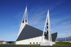 Église en Islande Photo libre de droits