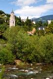 Église en Italie, Meran, Merano photographie stock libre de droits