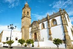 Église en Médina Sidonia, Andalousie, Espagne Image libre de droits