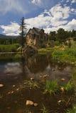 Église en montagnes rocheuses photographie stock