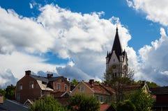 Église en Nora, Suède images stock