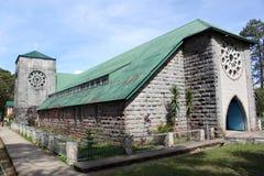 Église en pierre images libres de droits
