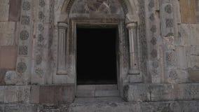 Église en pierre arménienne banque de vidéos