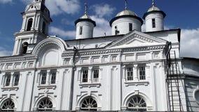 Église en pierre blanche de la Russie photos stock