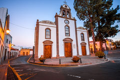 Église en San Bartolome De Tirajana Images libres de droits
