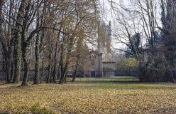 Église en stationnement de Monza Photos libres de droits