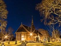 Église en Suède 2 image stock