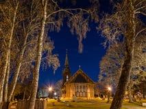 Église en Suède 1 photos stock