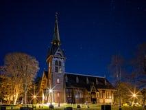 Église en Suède 4 photographie stock libre de droits