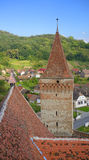 Église enrichie dans Mosna Images stock