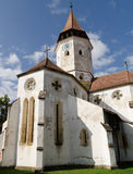 Église enrichie de Prejmer/Tartlau image libre de droits