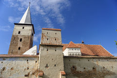 Église enrichie, Valea Viilor, Roumanie photo stock
