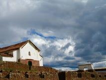 Église espagnole Image libre de droits