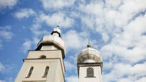 Église et ciel Photos stock