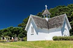 Église et cimetière de cathédrale Images stock