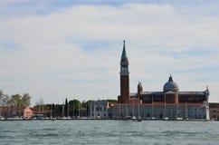 Église et mer Image libre de droits