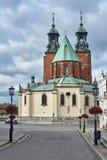 Église et rue gothiques de cathédrale image libre de droits