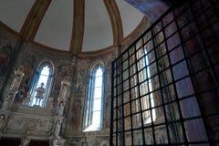Église gothique à Naples Photo libre de droits