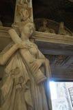 Église gothique à Naples Image stock