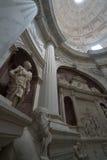 Église gothique à Naples Images stock