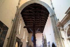 Église gothique à Naples Image libre de droits