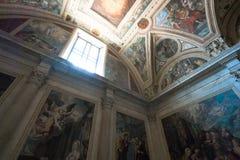 Église gothique à Naples Photos stock