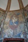 Église gothique à Naples Photos libres de droits