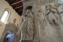 Église gothique à Naples Photo stock
