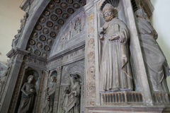 Église gothique à Naples Photographie stock