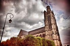Église gothique Photo libre de droits
