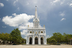 Église gothique de style Photos stock