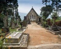 Église gothique en montagnes de Connemara Image libre de droits