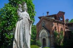 Église gothique médiévale Photo stock