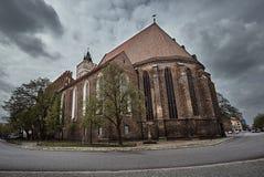 Église gothique médiévale Photographie stock libre de droits