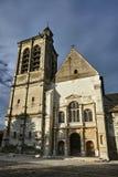 Église gothique médiévale dans Troye photos libres de droits