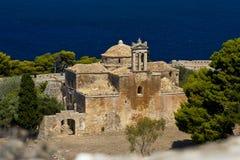 Église gothique, Pylos, Grèce Photographie stock libre de droits