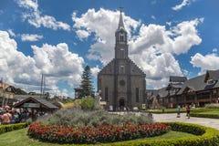 Église Gramado Brésil de Peter de saint Image libre de droits