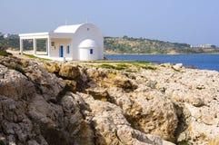 Église grecque classique Images stock
