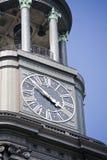 Église Hambourg de rue Michaelis (Michel) Images libres de droits