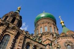 Église Harbin de rue Sophia images libres de droits