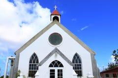 Église historique en île image libre de droits