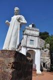 Église historique - rue Paul Images libres de droits