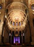 Église intérieure de Beautuful au Québec Images stock