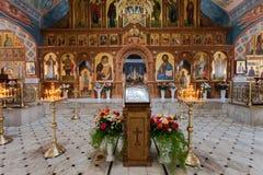 Église intérieure de la résurrection Image libre de droits