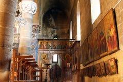 Église intérieure de mamans de saint Photos stock