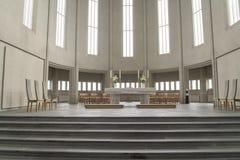 Église intérieure Hallgrimskirkja Reykjavik photo libre de droits