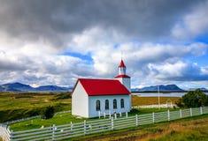 Église islandaise Image libre de droits