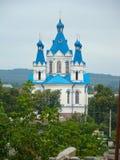 Église, Kamianets-Podilskyi, Ukraine image libre de droits