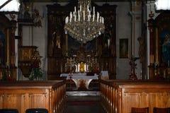 Église, Lucenec, Slovaquie images libres de droits