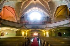Église luthérienne à Tampere, Finlande photographie stock libre de droits